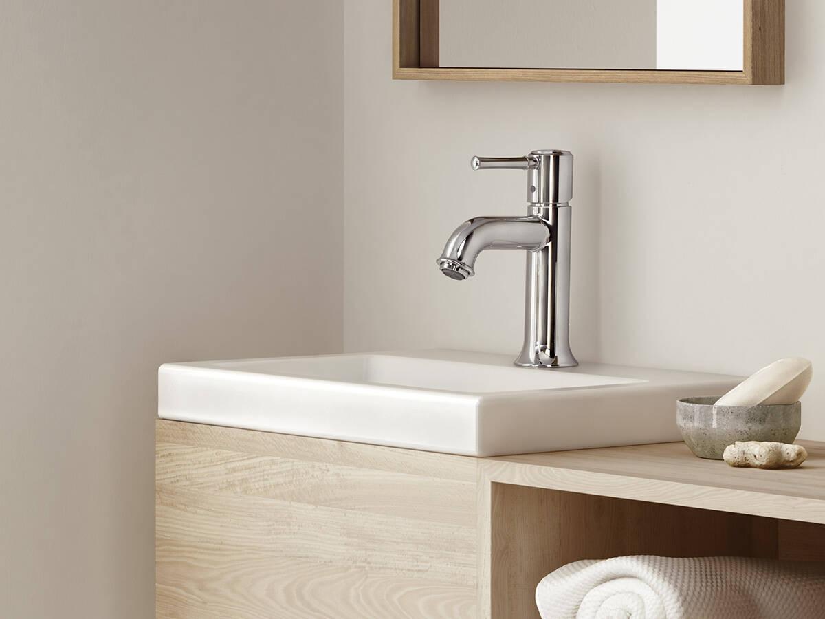 经典风格:汉斯格雅达丽丝浴室系列龙头。