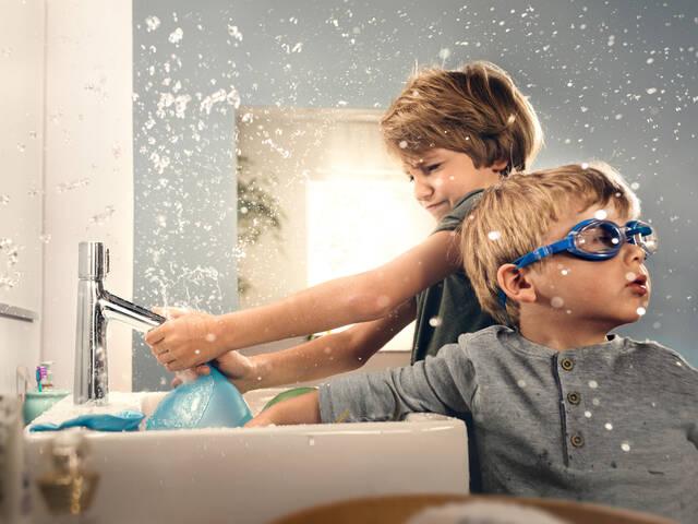 汉斯格雅品牌龙头为您带来纯粹亲水乐趣。