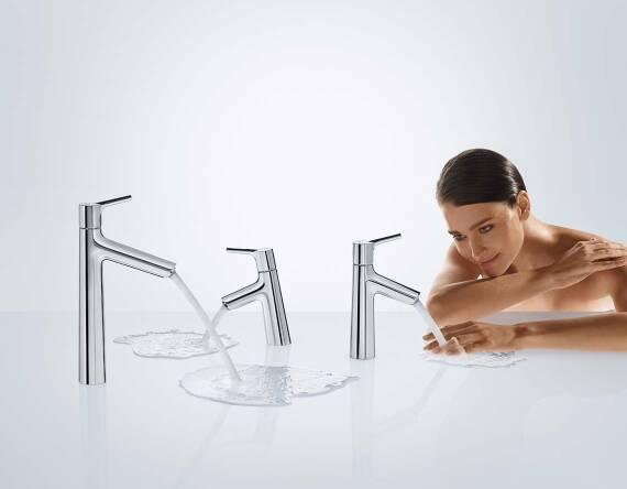 汉斯格雅舒适空间带来三种随意体验。