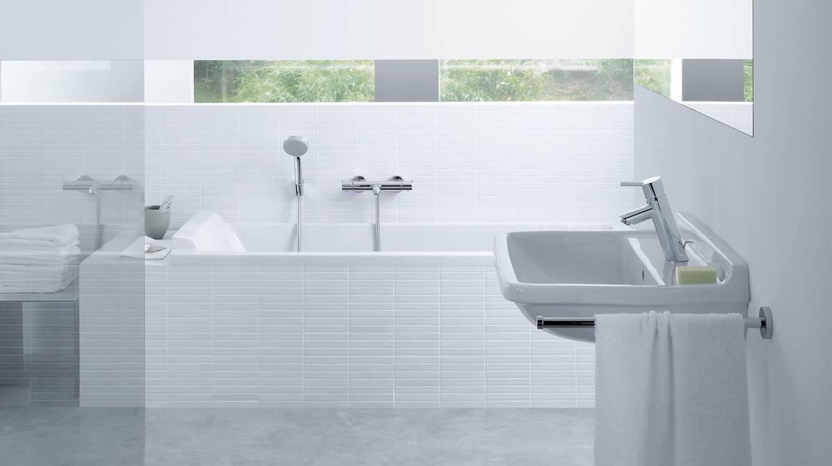 Puristisch wohnen: Tipps für ein geradliniges Badezimmer