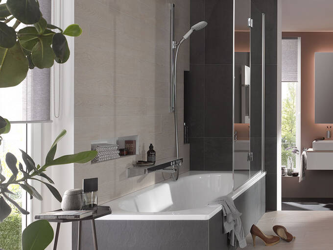 Badezimmer Ideen Tipps Zur Badgestaltung Stilfinder Hansgrohe De