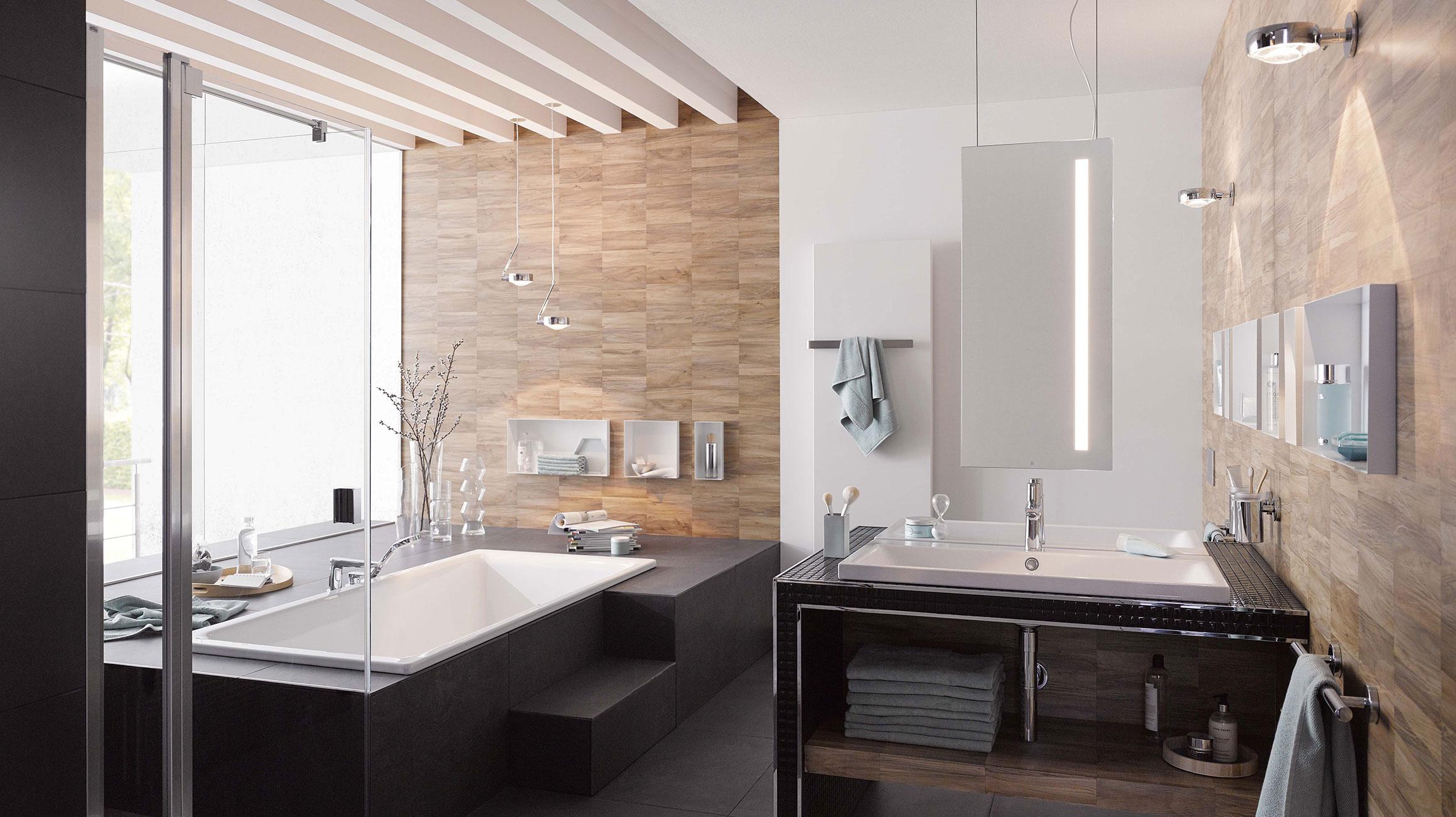 Luxe badkamer stijlvol ontwerpen droombadkamer hansgrohe nl
