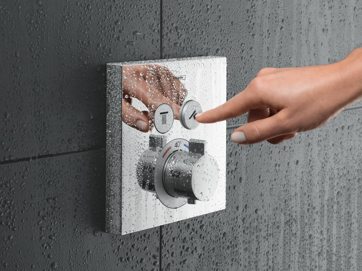方便各个年龄层人士的淋浴控制装置。