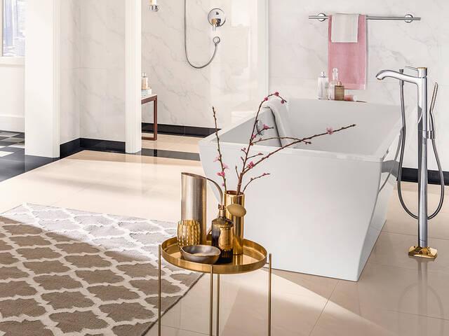 汉斯格雅浴室设计创意。