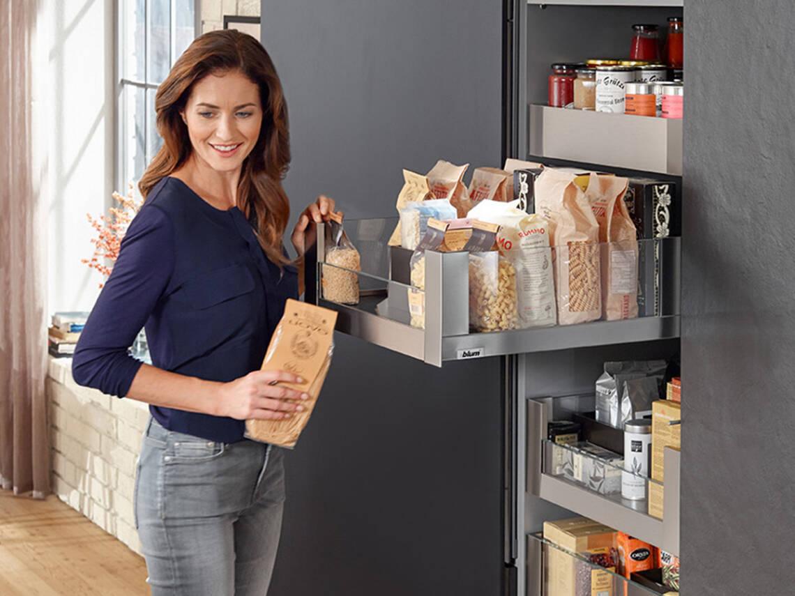 符合人体工学的厨房为您带去更多舒适。