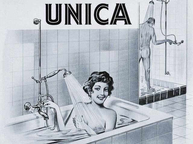 汉斯格雅的 Unica——世界首款花洒升降杆。