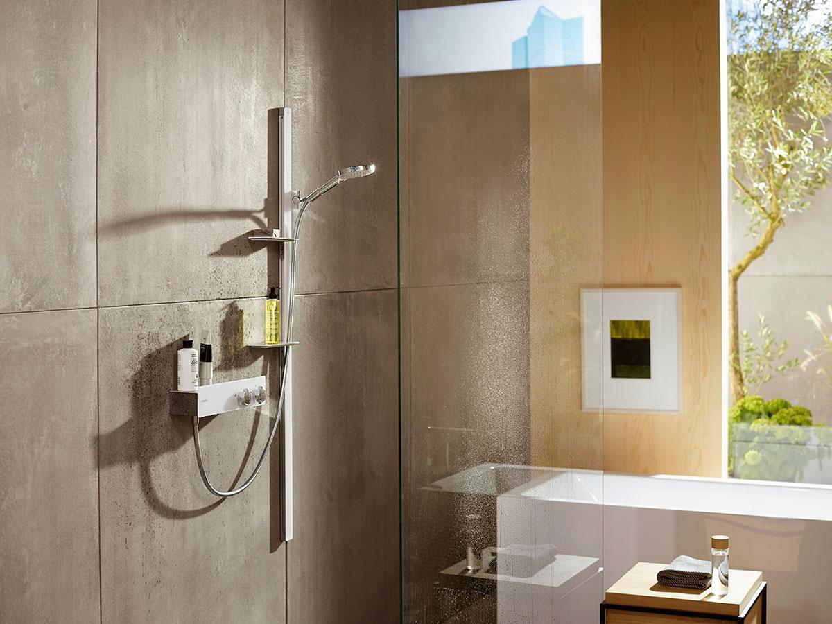 Shower Bar And Hand Shower The Ideal Shower Set