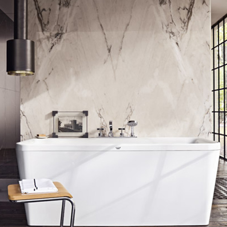 Axor bathroom planning: separating bathroom areas | Hansgrohe INT