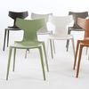 Chairs in different colors.