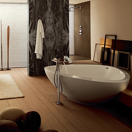 Reference: Axor Citterio E and Axor Starck V | Hansgrohe INT