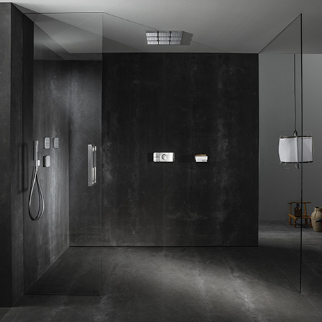 Elegant shower control with Axor One | Hansgrohe INT
