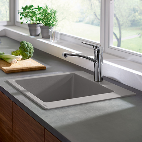 Granite sinks for modern kitchens | Hansgrohe INT
