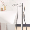 Single lever bath mixer, floor-standing.