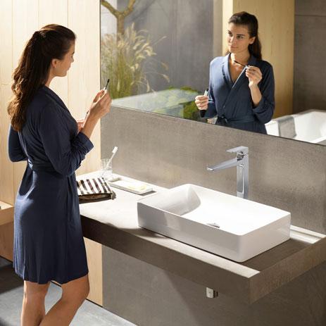 metropol bathroom mixers mixer taps hansgrohe int. Black Bedroom Furniture Sets. Home Design Ideas