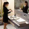 Hansgrohe Metropol wash basin, wall-mounted.