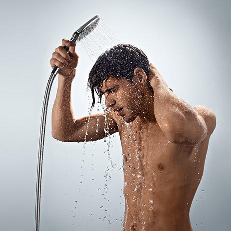 kalla duschar