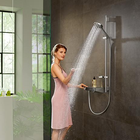 Hansgrohe Shower Set With PowderRain. ...