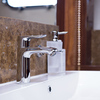 Hansgrohe Metris at the wash basin.