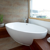 Bath tub combined with Axor.