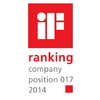 iF ranking 2014 company position 17