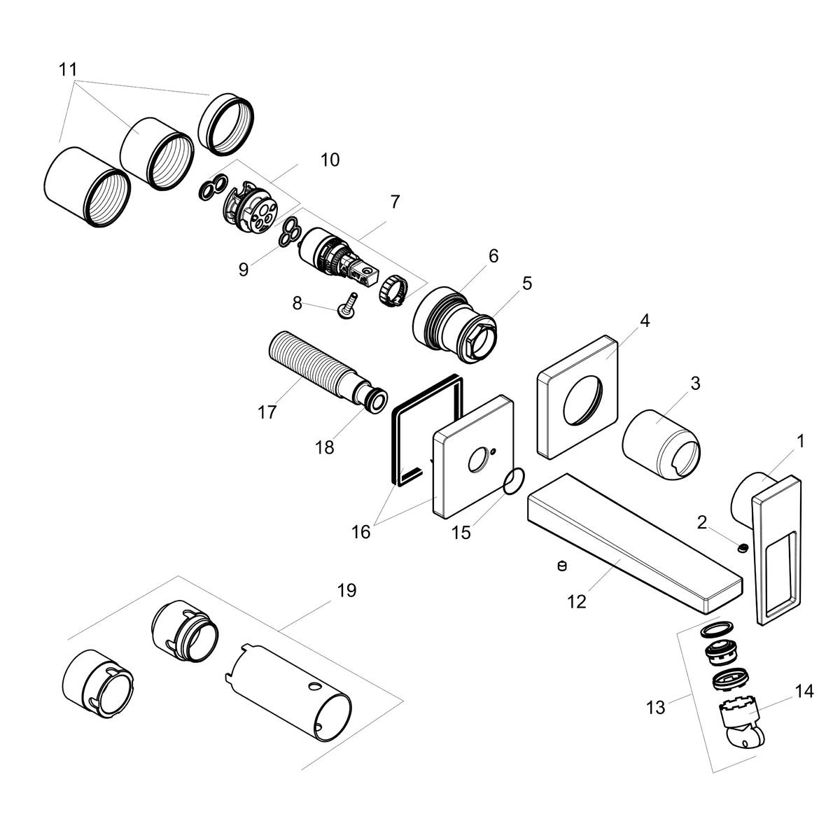 Parts Diagram For Innovations Single Handle Bathroom