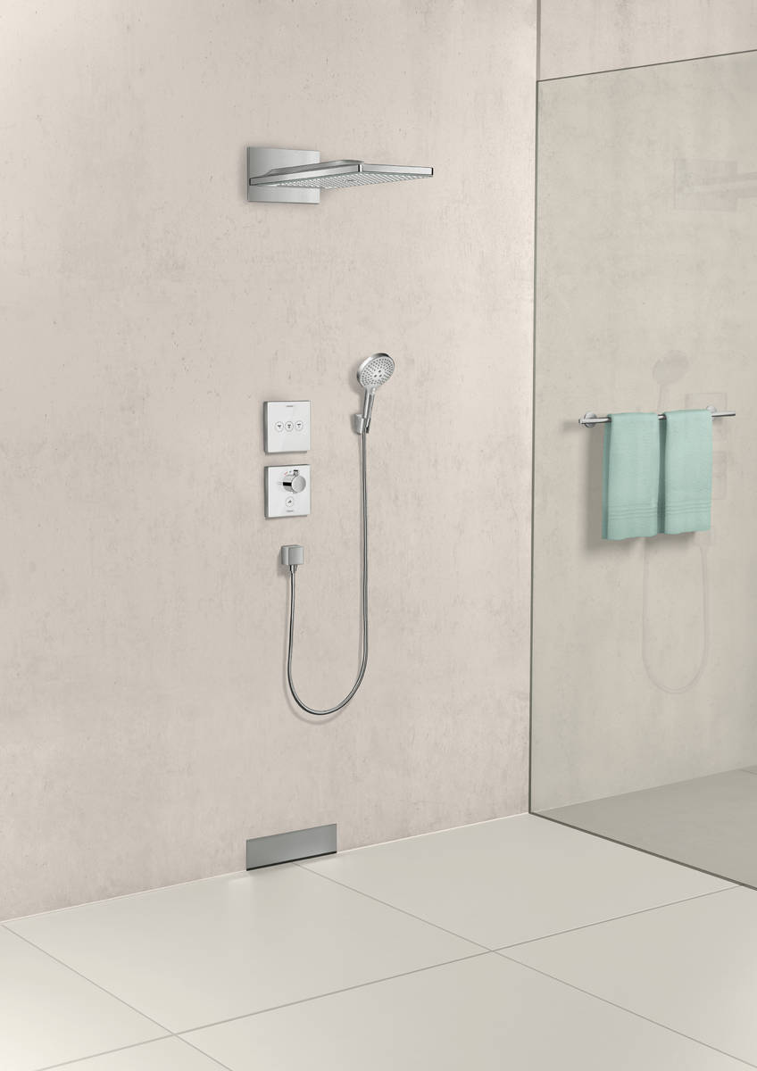 hansgrohe wandanschlussbogen fixfit wandanschluss square mit r ckflussverhinderer art nr. Black Bedroom Furniture Sets. Home Design Ideas
