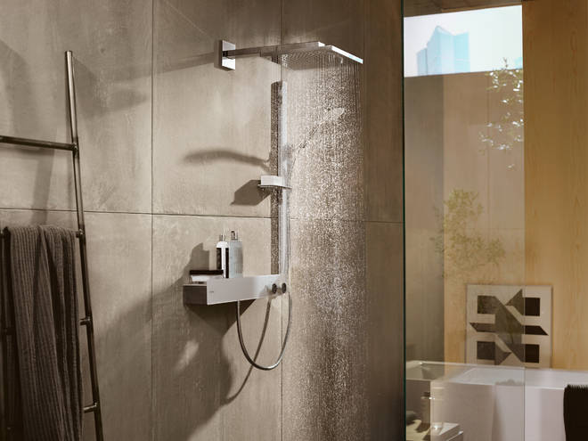 Hansgrohe Showertablet Thermostatic Mixer 600 Universal For