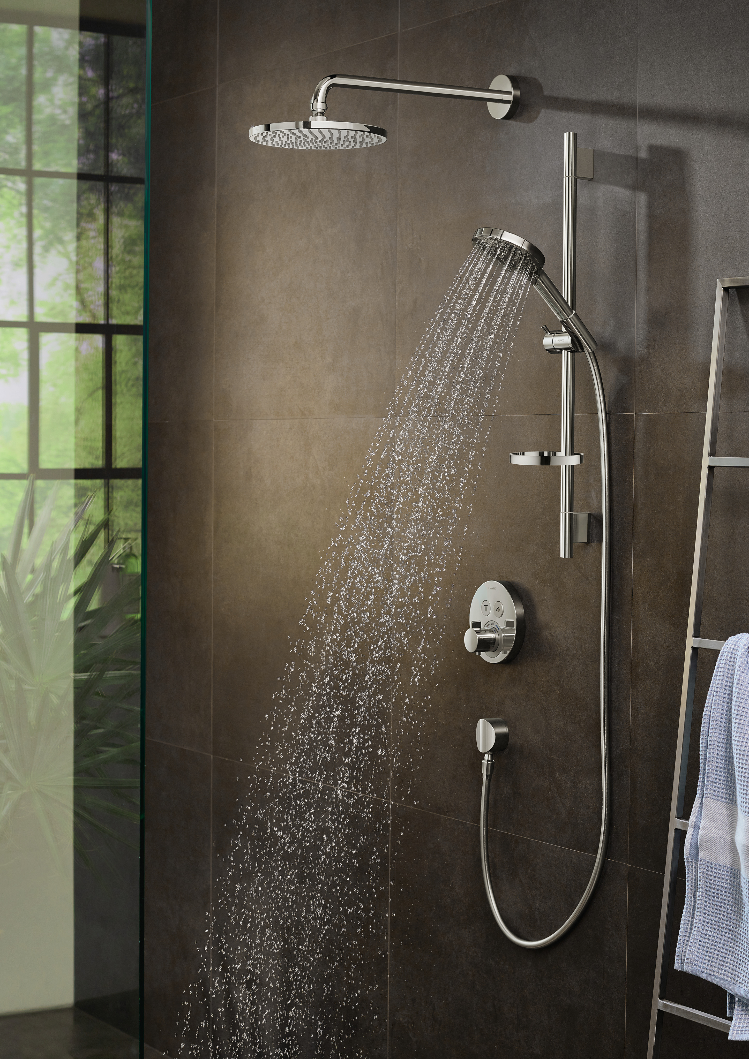 Hansgrohe Overhead Showers Raindance S 1 Spray Mode Item