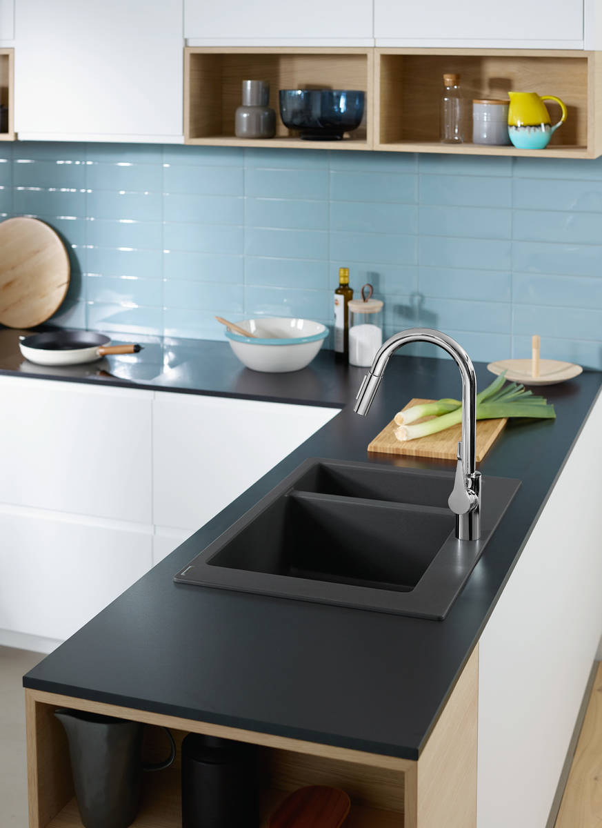 hansgrohe Sinks: S51, S510-F635 Built-in sink 180/450, Item No ...