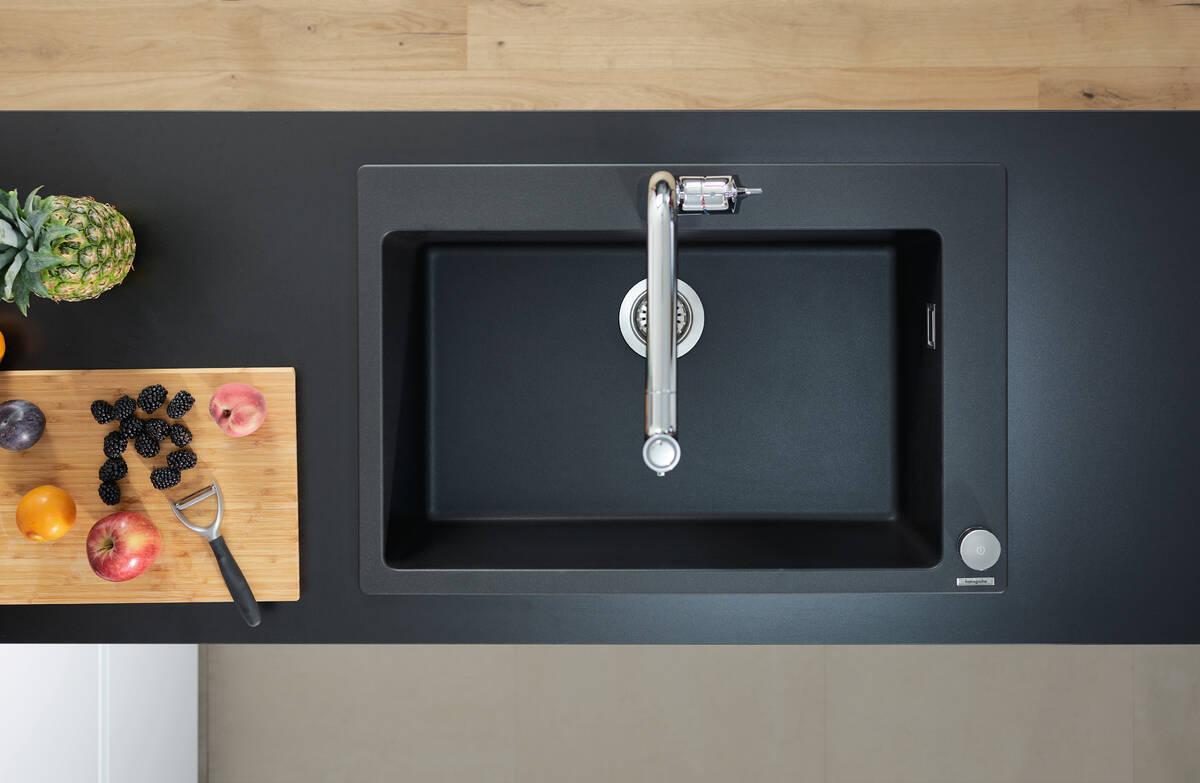 hansgrohe Vaske: S51, S510-F660 Nedfældet/planlimet vask 660, Art.nr. 43313170 | hansgrohe DK