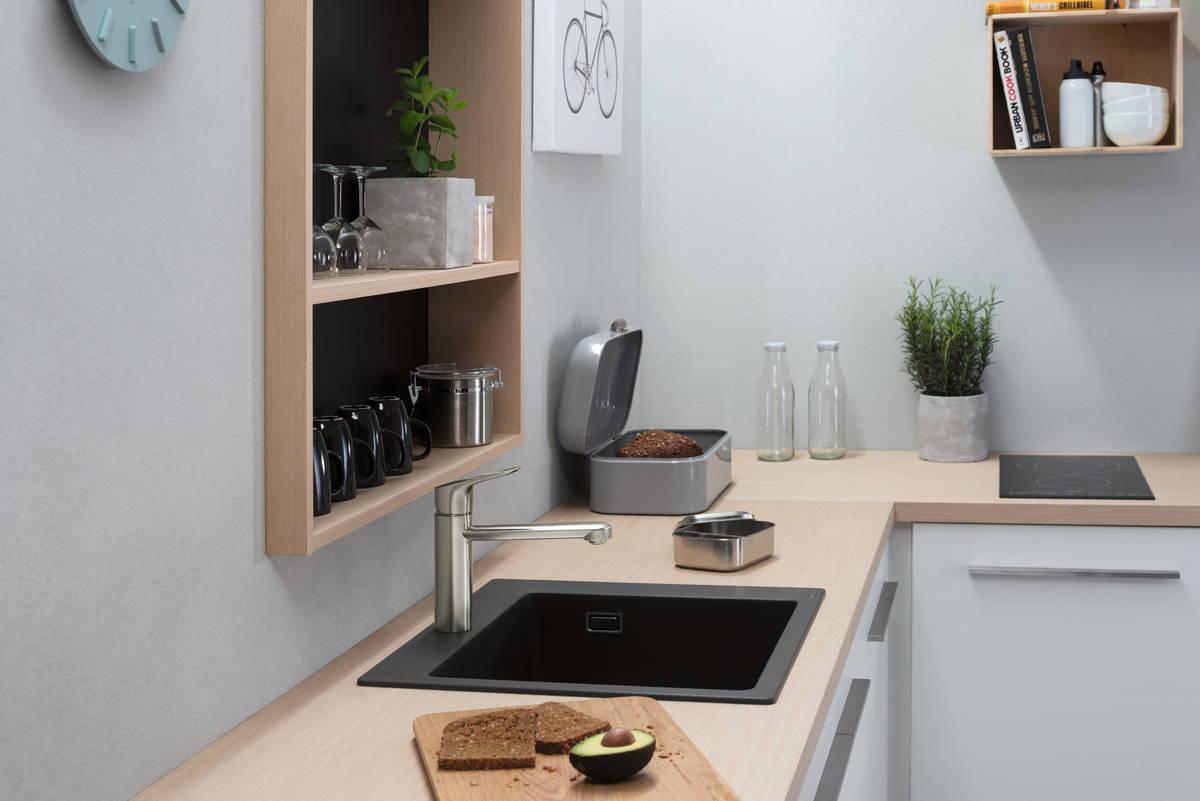 hansgrohe Vaske: S51, S510-F450 Nedfældet/planlimet vask 450, Art.nr. 43312170 | hansgrohe DK