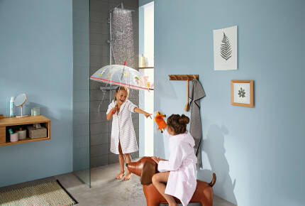 Lifestyle: Showerpipe 280 1jet with thermostat 1