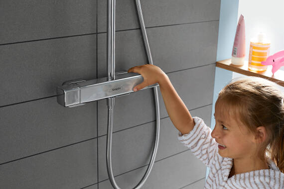 Lifestyle: Showerpipe 280 1jet with thermostat 5