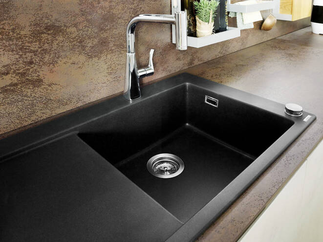 Hansgrohe Sinks S51 S514 F450 Built In Sink 450 With