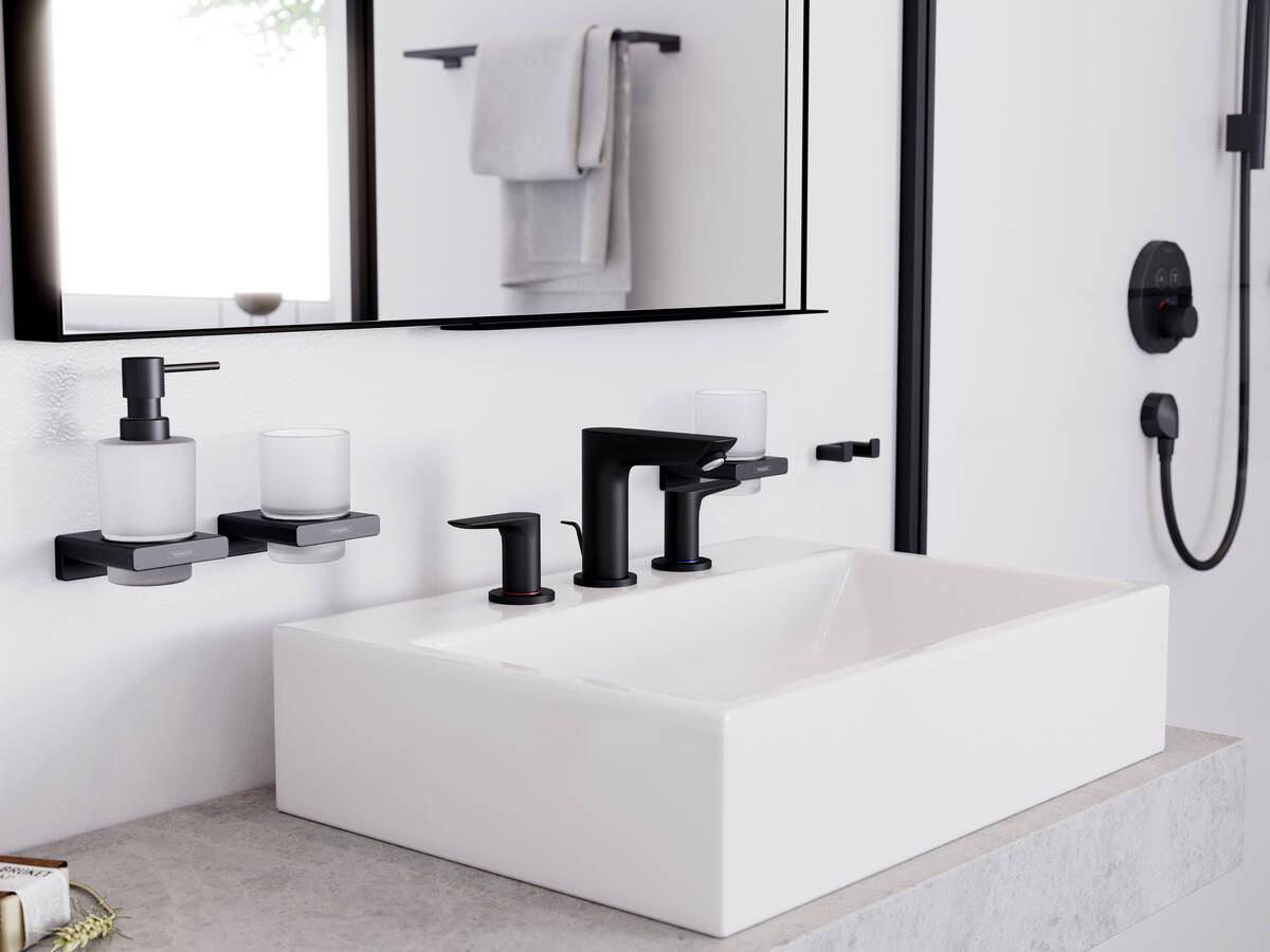 Hansgrohe Cold Water Mixer for Small Basin Only Talis 7cm Sous bec Pour Petit lavabo