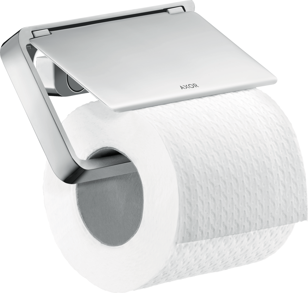 Axor Accessories Axor Universal Accessories Toilet Paper Holder With Cover Art No 42836000 Axor Us