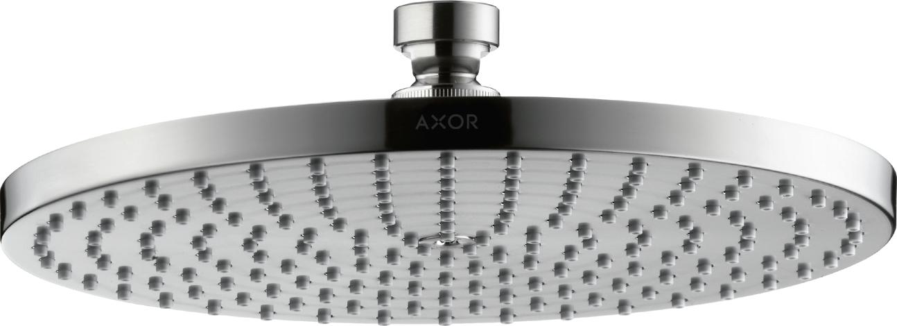 Axor 28494000 Starck Overhead Shower 240 Chrome 1 Spray