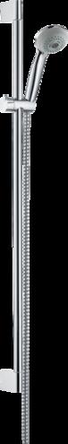 hansgrohe brausesets crometta 85 brauseset multi mit brausestange 90 cm art nr 27766000. Black Bedroom Furniture Sets. Home Design Ideas