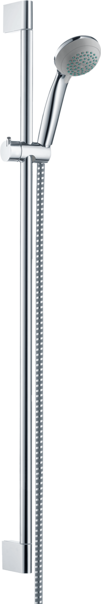 hansgrohe brausesets crometta 85 brauseset vario mit brausestange 90 cm art nr 27762000. Black Bedroom Furniture Sets. Home Design Ideas
