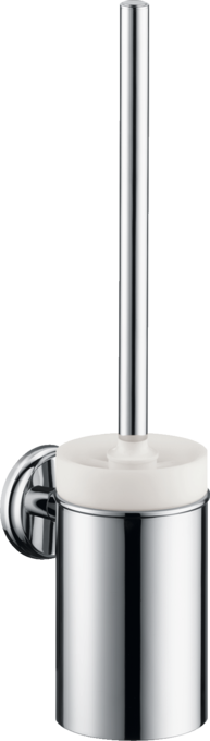 hansgrohe accessoires logis classic wc b rste mit halter wandversion art nr 41632000. Black Bedroom Furniture Sets. Home Design Ideas