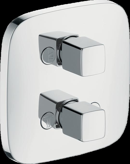 hansgrohe ab und umstellventile puravida ab und umstellventil icontrol unterputz f r 3. Black Bedroom Furniture Sets. Home Design Ideas