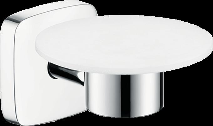 hansgrohe accessoires puravida seifenschale art nr 41502000 hansgrohe de. Black Bedroom Furniture Sets. Home Design Ideas