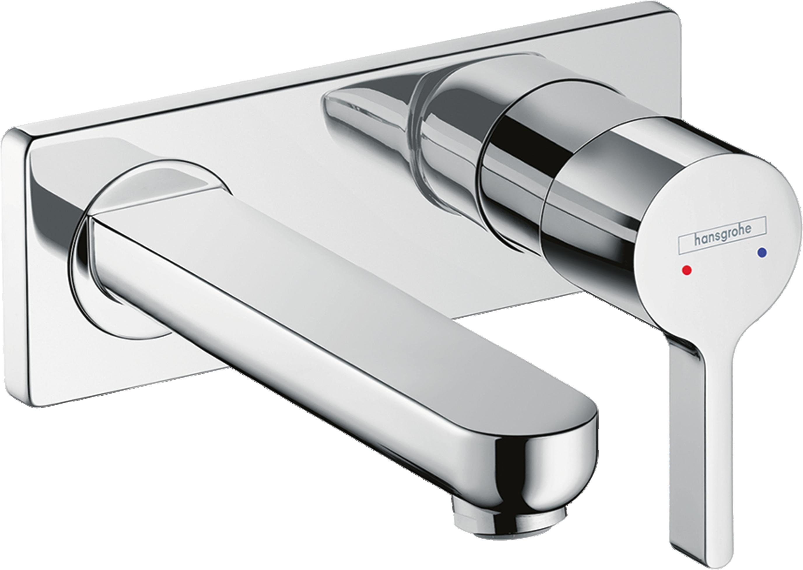 Küchenarmatur Wandmontage Hansgrohe ~ hansgrohe unterputz armatur latest hansgrohe thermostat unterputz metris chrom mit with