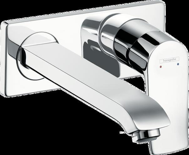 Metris Washbasin Faucets Chrome Art No 31086001 Hansgrohe Usa