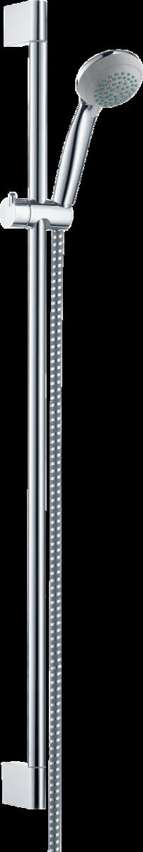hansgrohe brausesets crometta 85 brauseset mono mit brausestange 90 cm art nr 27729000. Black Bedroom Furniture Sets. Home Design Ideas