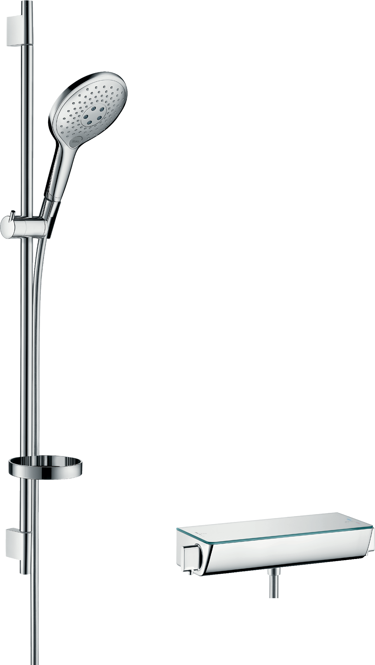 Shower System 150 With Ecostat Select Thermostatic Mixer And Rail 90 Cm Available At The Following Showrooms
