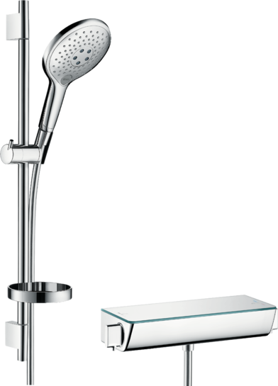 Duschstange Und Brause Das Ideale Duschset Hansgrohe De