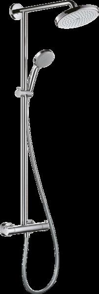 淋浴管 220单速节水型9L带恒温淋浴龙头