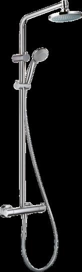 淋浴管 160单速节水型9L带恒温淋浴龙头