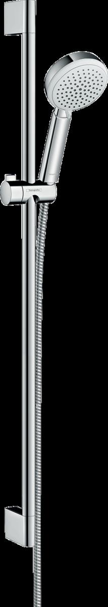 hansgrohe brausesets crometta 100 brauseset vario mit brausestange 90 cm art nr 26657400. Black Bedroom Furniture Sets. Home Design Ideas